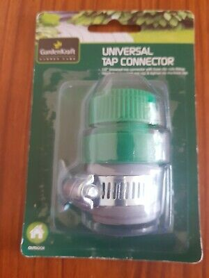 Tap To Hose Connector Set, Universal Garden Watering Fitting Attachment