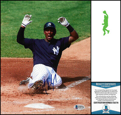 Miguel Andujar Autographed Signed 8X10 Photo Picture Baseball Beckett Bas Coa
