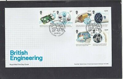 GB 2019 British Engineering Royal Mail FDC First Day Cover Engineer Close London