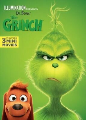 The Grinch 2018 (DVD) PRE-OWNED 4/24A