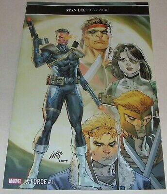 X-Force No 1 Marvel Comic Stan Lee Variant Cover From February 2019 Ed Brisson