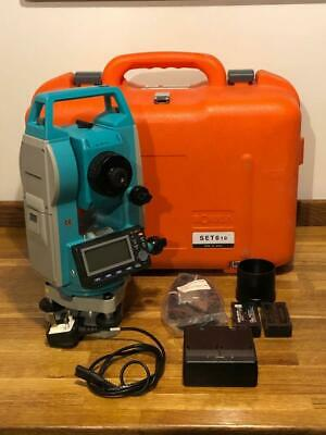 Sokkia Set610 Set 610 Total Station Vgc Gwo With 2 Batteries Free Sd Uk Delivery
