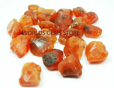 2500 Cts 100% NATURAL RED CARNELIAN ROCK ROUGH LOOSE GEMSTONE LOT
