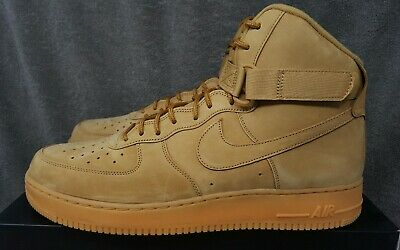 brand new 27ba0 207e7 Nike Air Force 1 High  07 LV8 WB Flax Flax-Outdoor Green (