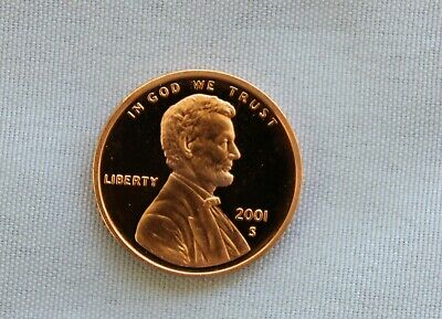 2001-S Lincoln Proof Cent Gem Cameo  Nice!!