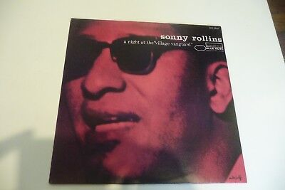 """Sonny Rollins A Night At The """"Village Vanguard"""" Lp French Pres Blue Note Reissue"""