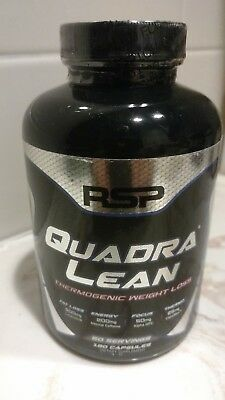 RSP - Quadra LEAN Thermogenic Weight Loss - 180 Capsules - Expire 9/2019