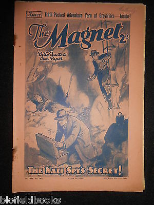 The Magnet; Billy Bunter's Own Paper - WWII Era Boy's Comic - May 11th 1940