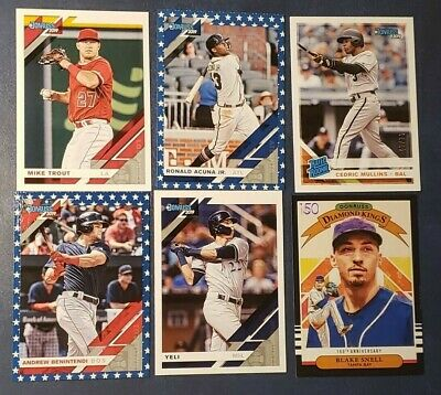 2019 Donruss Photo Name Variations 150th Anniversary Independence Day You Pick