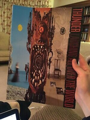 Thunder Laughing All Over The World Programme Glossy Colour Concert Tour Book