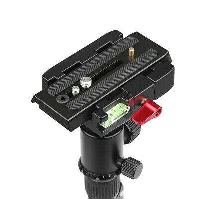 SHOOT Quick Release Plate Clamp Tripod Adapter for Manfrotto Camera Camcorder