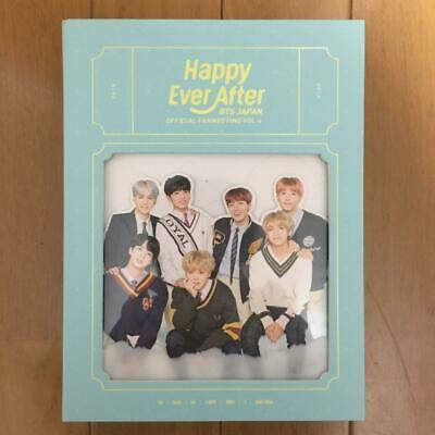 BTS Japan Official Fanmeeting Vol 4 Happy Ever After 2018 DVD and 1 Photo card