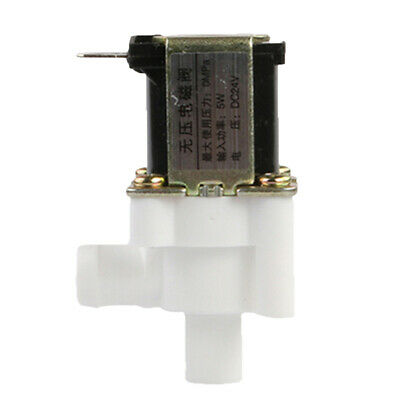 Electric Solenoid Valve Water Gas Air Normally Open Type Pllastic Metal