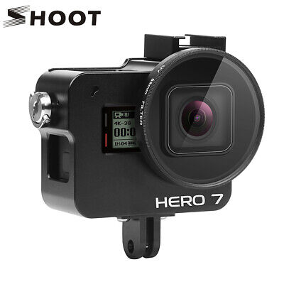Protective Aluminum Alloy Case Cage Frame Shell for GoPro Hero 7 6 5 Black Vlog