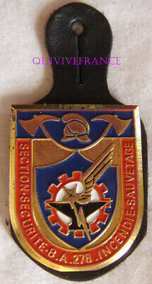 In12368 - Insigne Sapeurs Pompiers S.s.i.s. 45 - 278, Amberieux