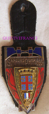 In12375 - Insigne Sapeurs Pompiers Clermont - Ferrand, 63