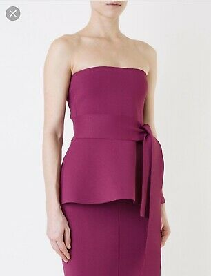 ab95e7c3e9c8ae Scanlan Theodore Crepe Knit Strapless - New With Tags - Size M