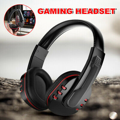 Gaming Headset Headphones With Mic Wired for Nintendo Switch PS4 Xbox one A5I9Y