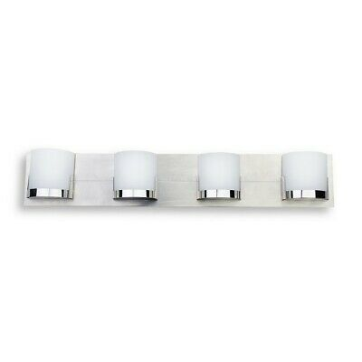 Minka George Kovacs Convex 4 Light Bath, Chrome - P5954-077