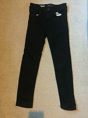 Black super skinny jeans from Next age 11