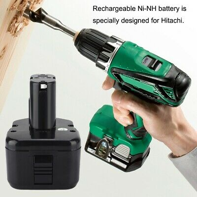 12Volt 3000mAh Rechargeable Ni-NH Battery Replacement for Hitachi DS FWH WH WR