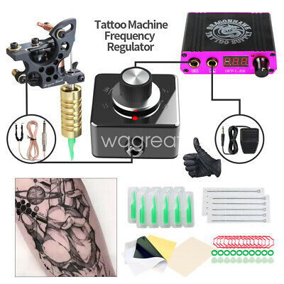 Tattoo Kit Set Lining Coils Tattoo Machine Mini Power with Frequency Converter
