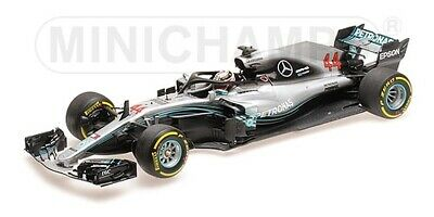 Minichamps 1:18 110180044 MERCEDES AMG PETRONAS F1 W09 EQ POWER L. HAMILTON 2018
