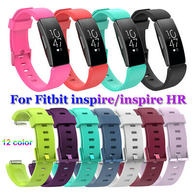 Silicone Watch Band Wristbands Bracelet Strap For Fitbit Inspire / Inspire HR