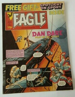 Eagle comic 1983 with free gift Spotlight on Sport vintage ads Lego Wimpy Atari