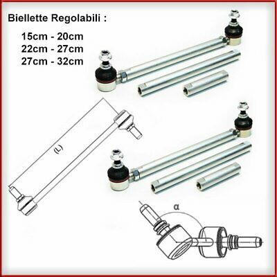 Kit Biellette REGOLABILE Barra Torsione Anteriore Mini Cooper One R50 R53 R56