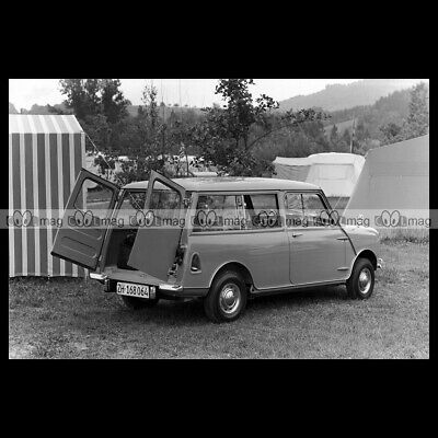 #pha.012806 Photo MORRIS MINI PICK-UP ADO15 1961-1969 Car Auto