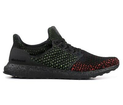 4e35b81a661fb Adidas Ultra Boost Clima Mens AQ0482 Core Black Solar Red Running Shoes  Size 11