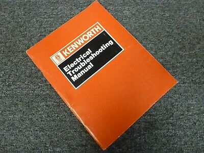 1989-1990 kenworth t600a truck electrical troubleshooting wiring diagram  manual