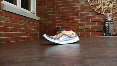 detailed look 8aec7 7eb61 Womens Nike Free Run Flyknit + Running Shoes Sz 7.5 38.5 Used 615806 614  Sneaker