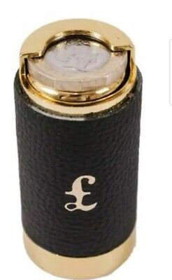 COIN HOLDER £1 One Pound Cash Change Dispenser Pocket