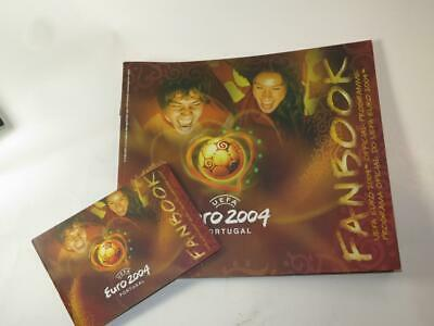 EURO 2004 Football Tournament FANBOOK Programme and Pocket Guide PORTUGAL