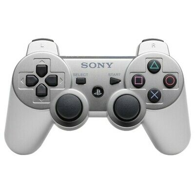 PS3  Playstation 3 official DualShock 3 Wireless gamepad silver [Sony]