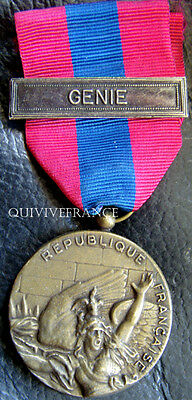 Dec3027 - Medaille Defense Nationale - Genie - French Medal