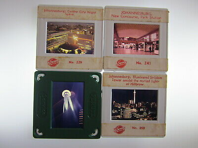 Photographic Slides 1970s Johannesburg South Africa Hillbrow Tower ~~ ruemiraldi