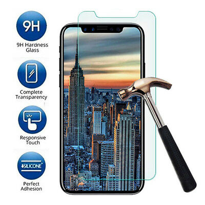 Ultrathin Screen Protector Tempered Glass Protective Film for iPhone XS MAX XR