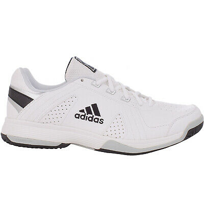 7f19ce39bd2 adidas Performance Mens Repsonse Approach Logo Sports Tennis Trainers -  White