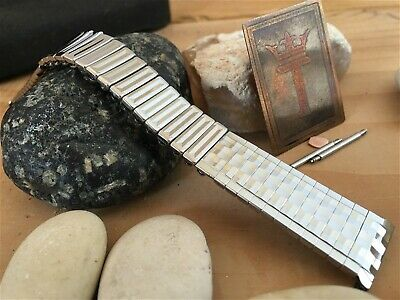 Stainless Steel 1960s New Old Stock Kreisler USA Vintage Watch Band 18mm nos