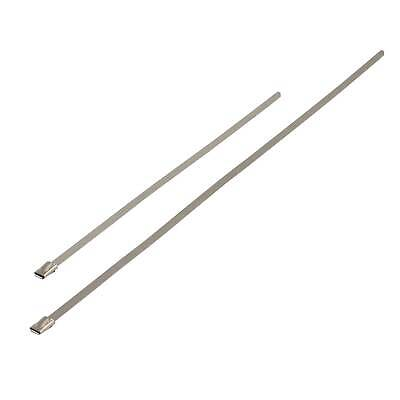 """Pitking Stainless Steel Zip Tie Wrap Exhaust Strap 12"""" Inch / 300mm -"""