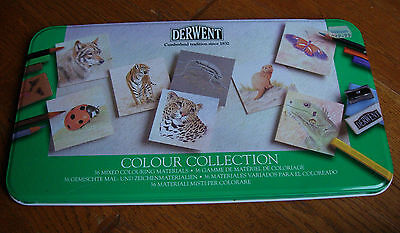 Derwent Colour Pencil Collection  36 Assorted Media New & Sealed