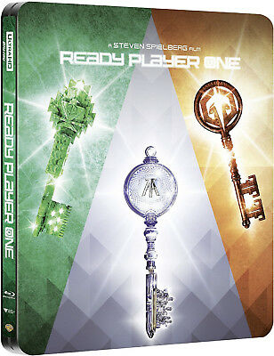 Ready Player One 4K - Limited Steelbook Edition (4K UHD+Blu-ray+Digital) NEU&OVP