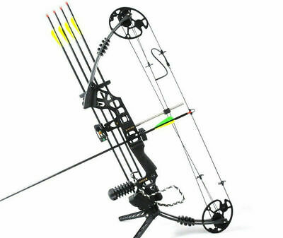 JUNXING Right Hand M120 Compound Bow Alloy Aluminum Handle Archery Outdoor Hunt