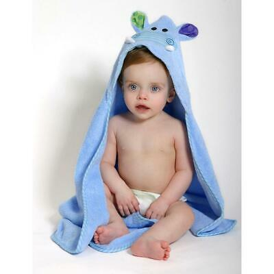 Zoocchini Baby Towel - Henry the Hippo