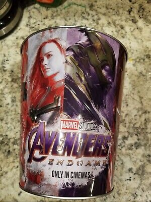 Avengers Endgame Promo Early Popcorn Tin Amc Exclusive Limited New