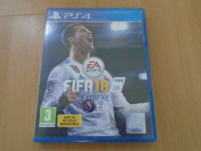 FIFA 18, PS4 game, excellent condition