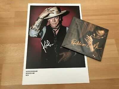 Kiefer Sutherland Reckless & Me CD Including Quality Signed Photograph £19.99